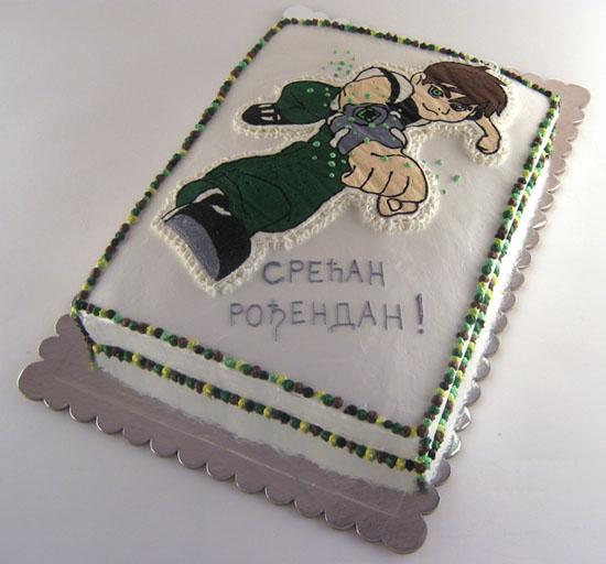 Ben Ten torta sa slagom