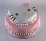 Hello Kitty torta na sprat