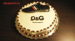 Torta patika Dolce & Gabbana