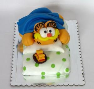 Torta u obliku Garfilda