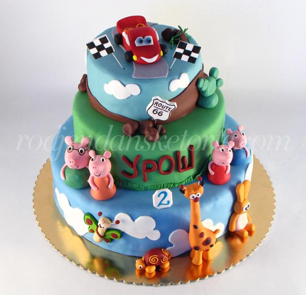 baby tv pepa prase sa porodicom munja torta na tri sprata