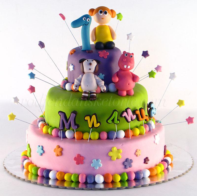 Baby Tv torta Zoe i drugari