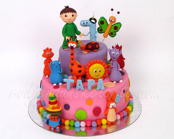 Baby TV torta za devojčicu