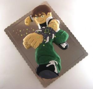 ben ten torta 3d