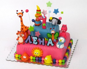 Četvrtasta Baby TV torta