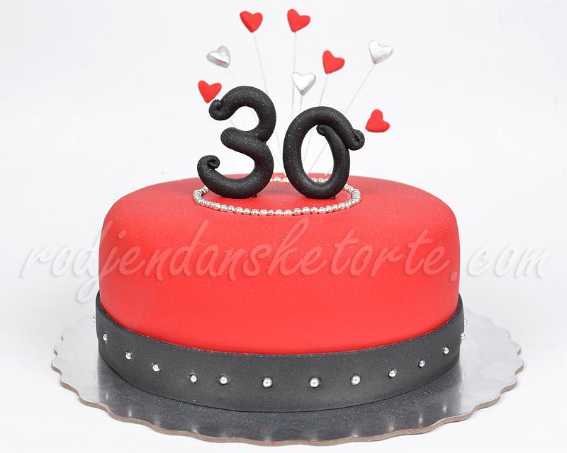 crvena-torta-za-30-rodjendan