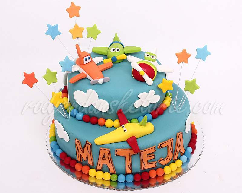 decija-rodjendanska-torta-avioni