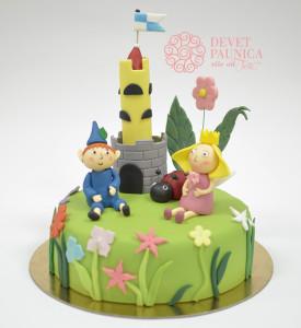 Dečija torta - Ben i Holi