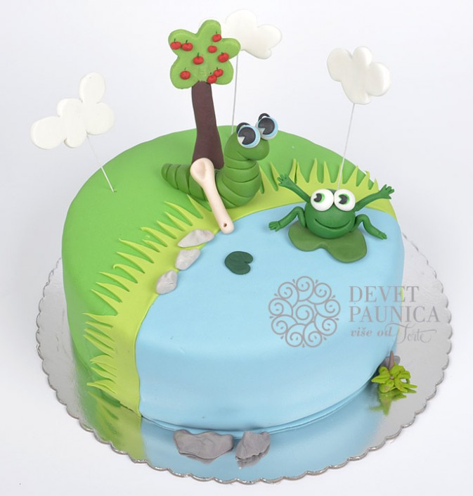 decija-torta-ide-zmija