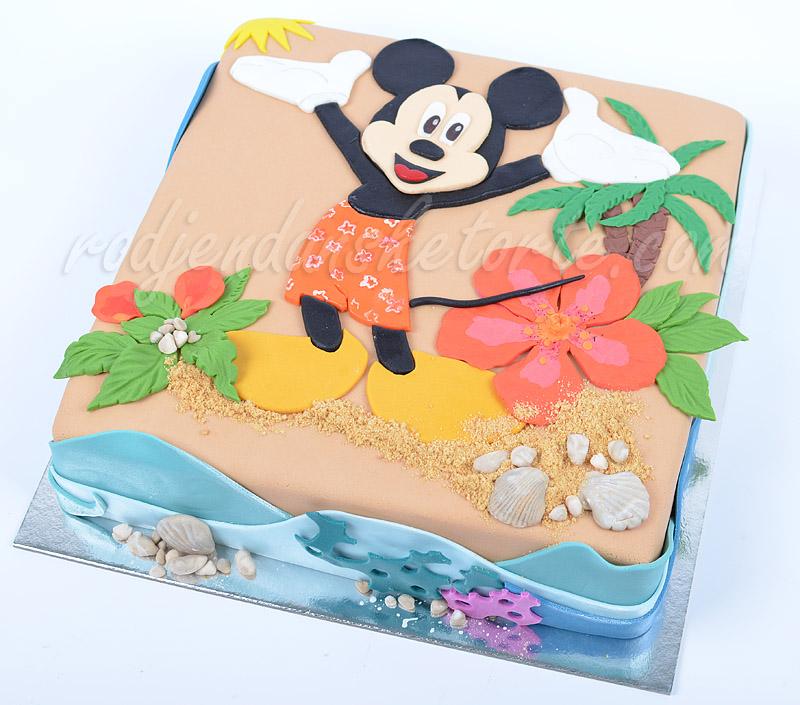 decija-torta-miki-maus-havaji