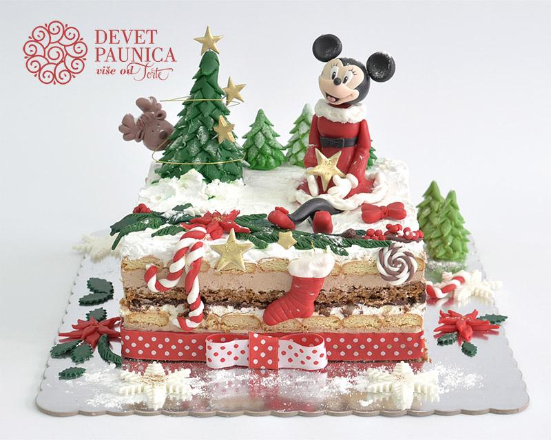 decija-torta-mini-maus-novogodisnja