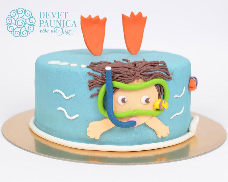 decija-torta-ronilac
