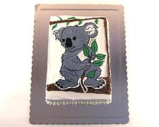 torta koala dekoracija šlagom