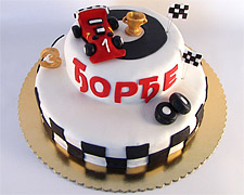 torta na sprat sa figuricom formula 1