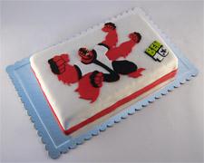 ben ten torta četvororuki