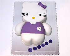 torta hello kitty sa haljinicom