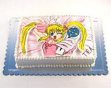 princeze sirene torte