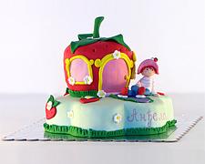 torta jagodica bobica figurica sa kucicom