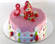 torta jagodica bobica figurica
