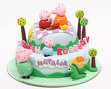 torta-pepa-prase-i-porodica-na-pikniku