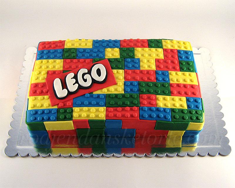torta u obliku lego kockica