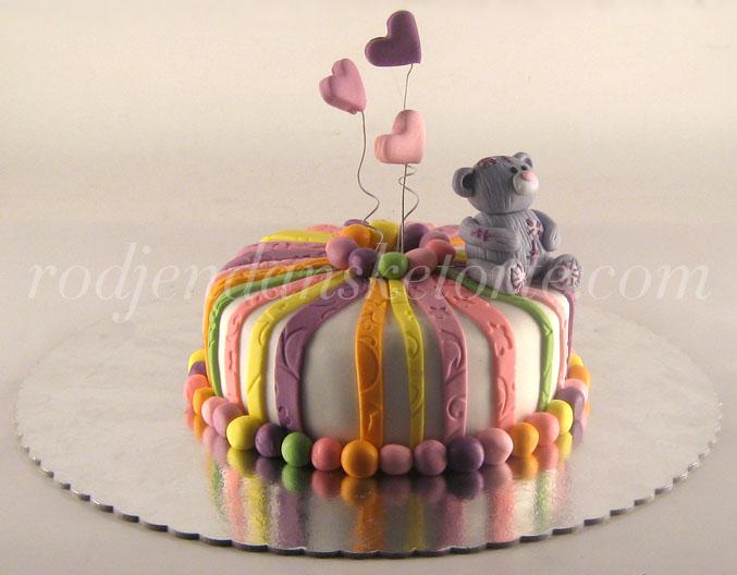 figurica meda torta sarena