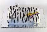 hana montana torta zebra