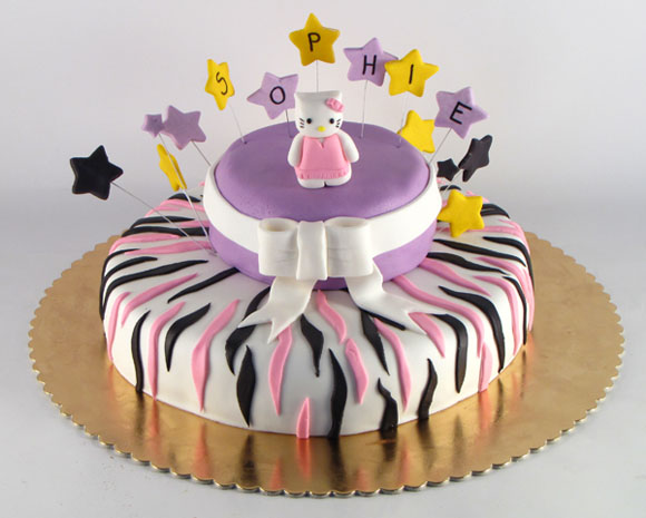 hello kitty figurica torta na sprat