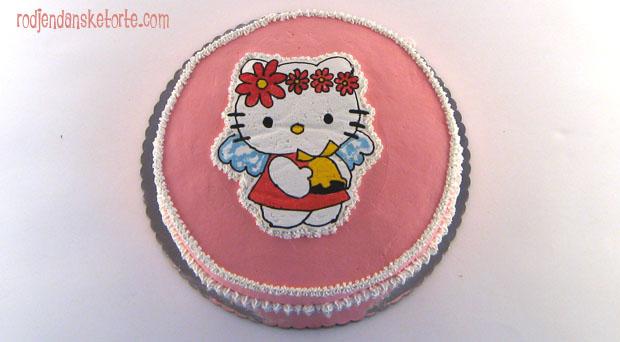 hello kitty torta andjelcic sa cveticima