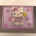 hello kitty torta sa pticicom