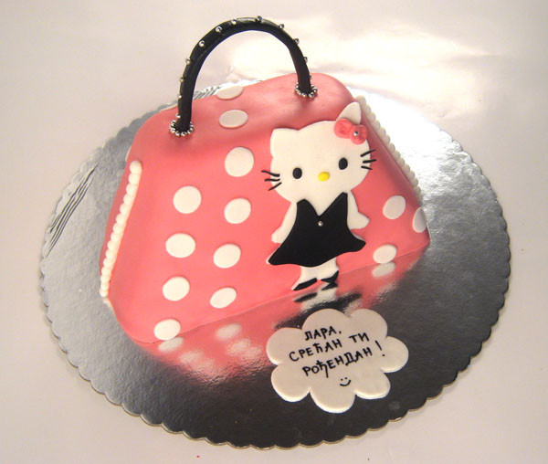 hello kitty torta tasnica