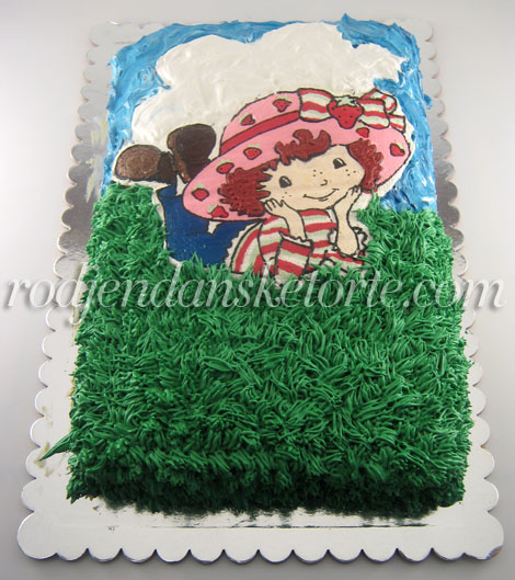 jagodica bobica torta izbliza