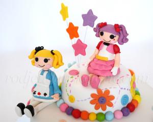 Lalaloopsy lutkice su učinile da dečija rođendanska torta postane ono što je san svaje torte - deo uspomene na detinjstvo.