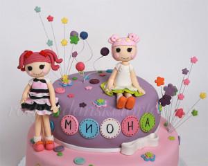 Lalaloopsy figurice za tortu