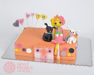 Lalaloopsy torta za Sofiju
