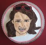 lik slavljenice na torti