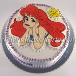 mala sirena rodjendanska torta