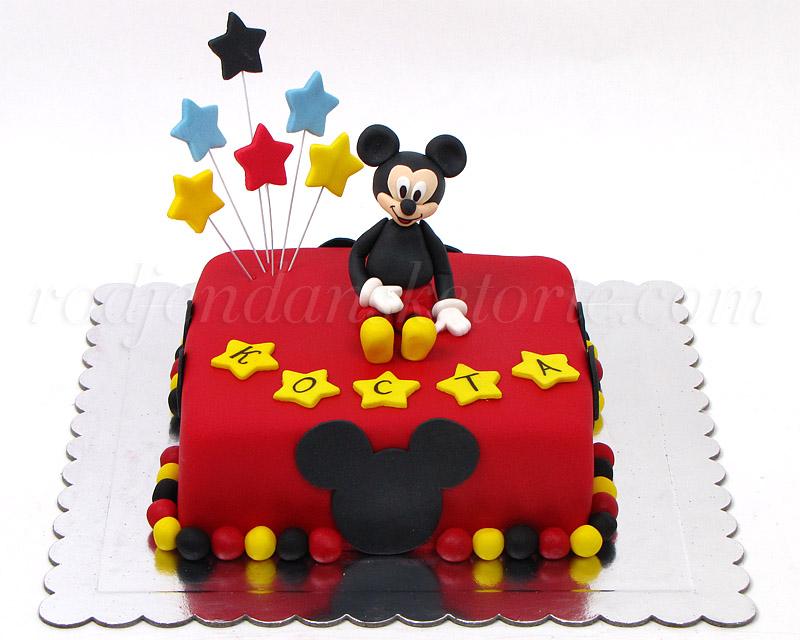 Torta Miki Maus – figurica i motivi | Naručivanje torti