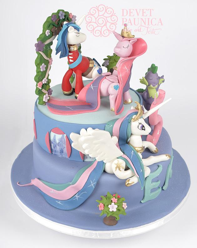 moj-mali-poni-svecana-torta