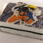 naruto torta od slaga