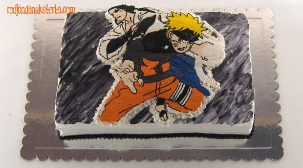 naruto torta
