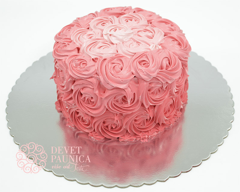 ombre-torta