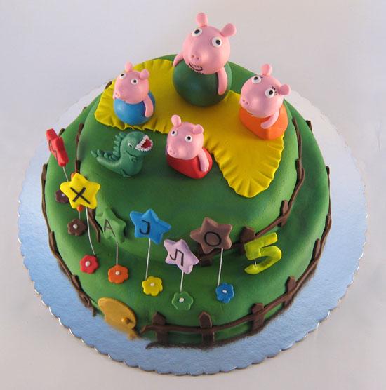 pepa prasci torta na sprat