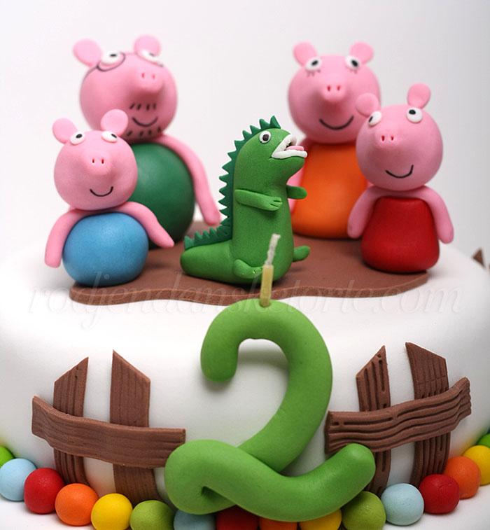 pepa-prasici-sa-dinosaurusom-figurice-za-tortu