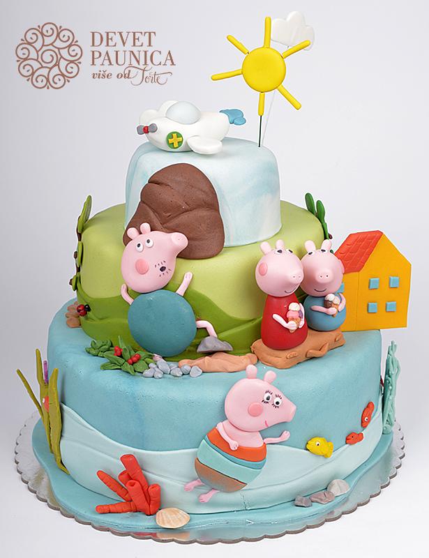 Torta pepa prase pepa sa porodicom u prirodi thecheapjerseys Choice Image