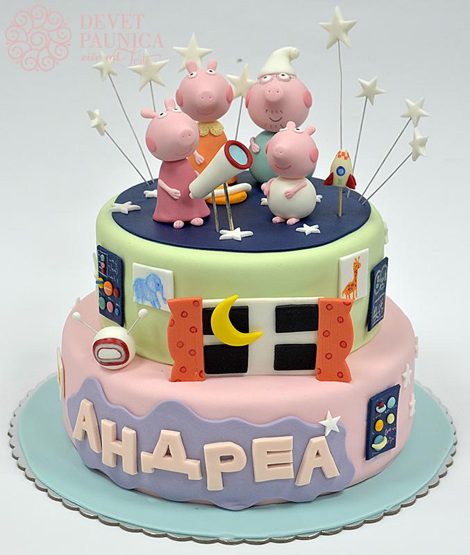 Torta pepa prase pepa sa porodicom u pidamama thecheapjerseys Choice Image