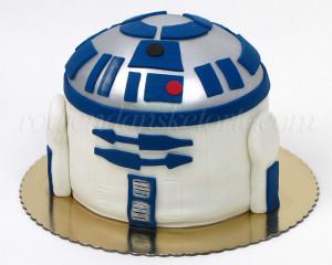 R2d2 star wars torta