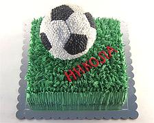 torta-fudbalska-lopta-na-travi