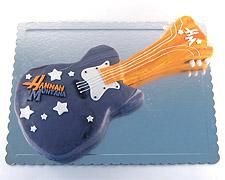 torta u obliku gitare hana montana