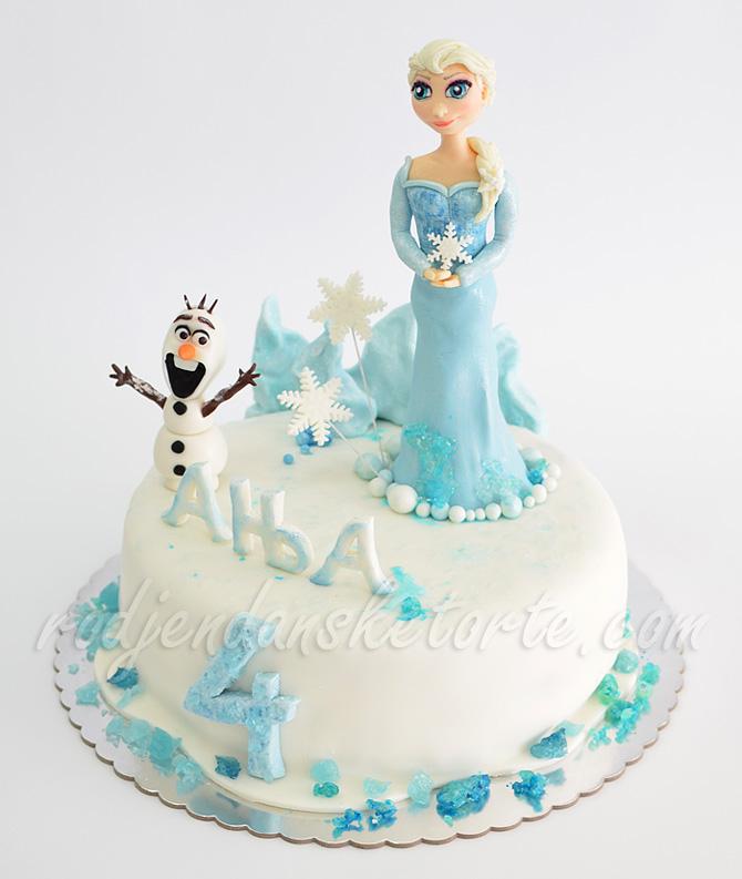 rodjendanska-torta-frozen-elsa-olaf